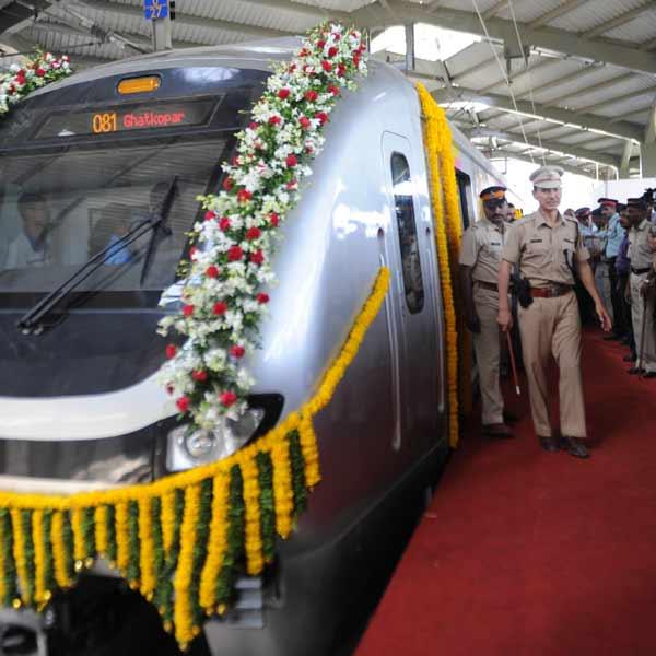 Mumbai Metro pic