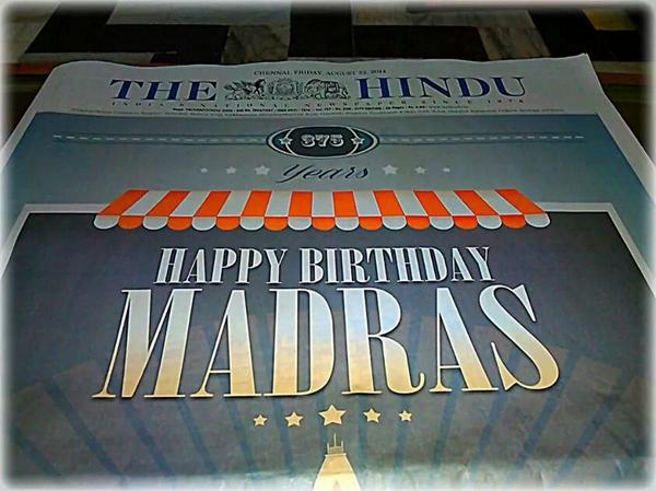 HappyBD MAdras
