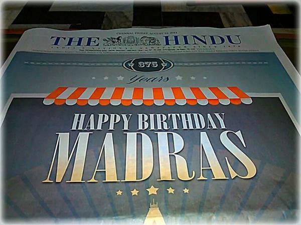 HappyBD MAdras